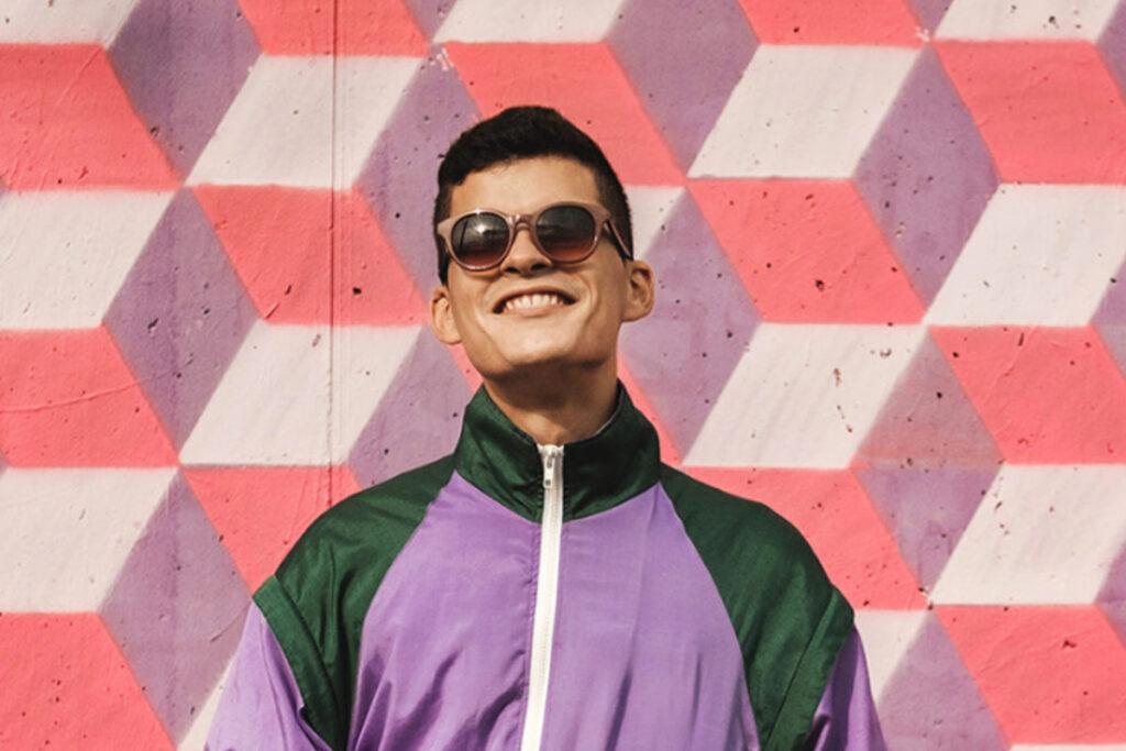 Astralon Google Cool Purple Teenager