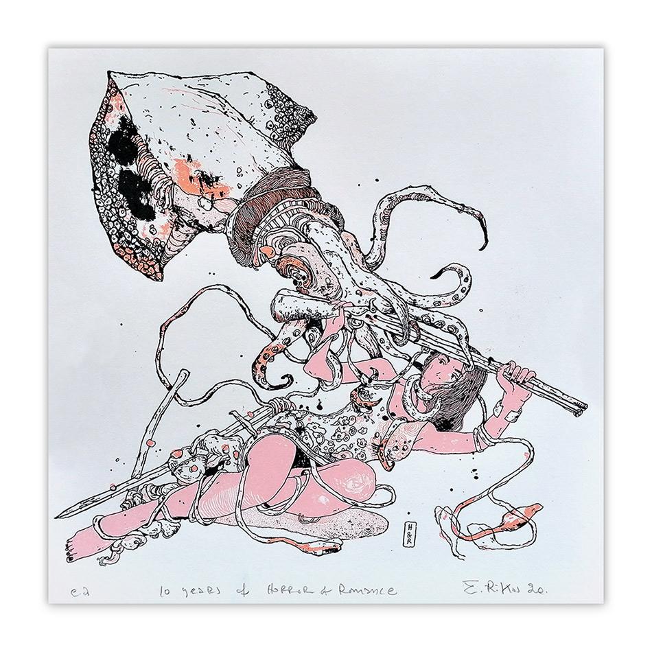 Astralon-rokos-10YEARSH&R-screenprint